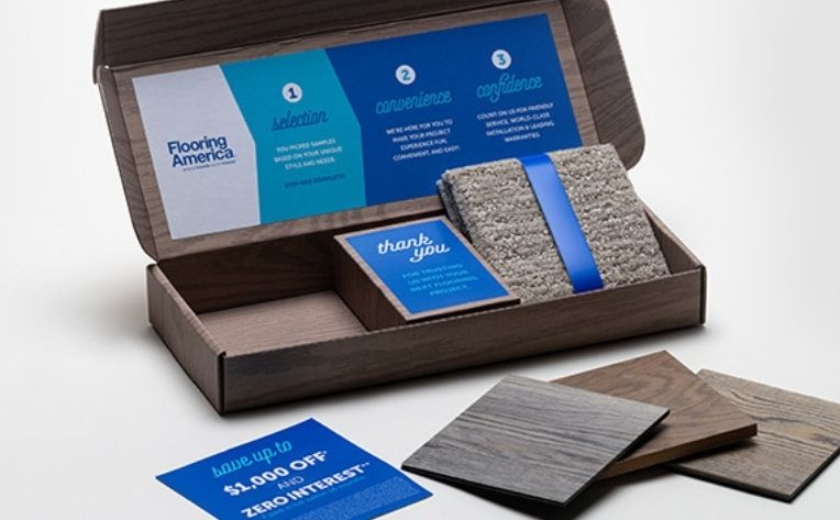 Flooring America Sample Boxes